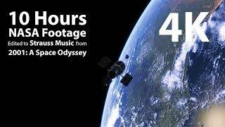 COSMOS: Space Odyssey 4K | Nature Relaxation™ Video ft  NASA