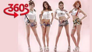 360 VR VIDEO - BAMBINO KOREAN GIRLS MUSIC VIDEO VR