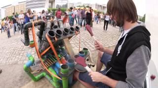 Awesome Pipe-Drummer | PipeDrumz | Neon Pipe Drummer